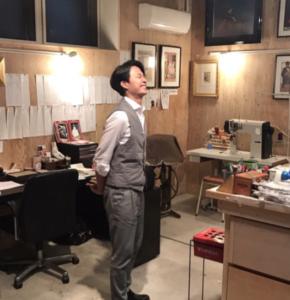 花田優一, 靴職人, 工房