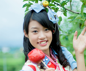 りんご娘, 王林, 昔