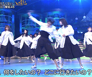 欅坂46, 2期生, メンバー, 松田里奈, うたコン
