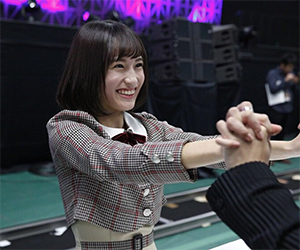 乃木坂46, 4期生, メンバー, 掛橋沙耶香, 握手