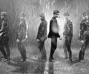 ストーンズ, SixTONES, デビュー曲, イミテーションレイン, Imitation Rain, MV, ずぶ濡れ