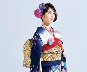 京都きもの友禅, CM, かわいい, 女の子, 女優, 浜辺美波, 振袖