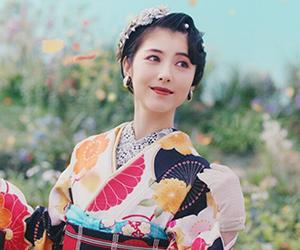 京都きもの友禅, CM, かわいい, 女の子, 女優, 浜辺美波, 振袖, 大正