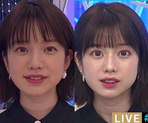 弘中綾香, 弘中アナ, 詐欺メイク
