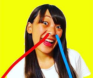 フワちゃん, Youtuber, 変顔