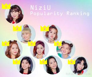 NIziU, メンバー, 人気, 順位, ランキング, なぜ, 理由