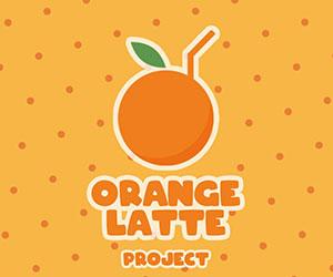 オレンジラテ, Orange Latte, ロゴ