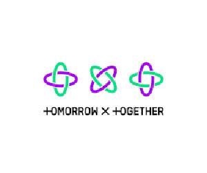 TXT, グループ名, ロゴ