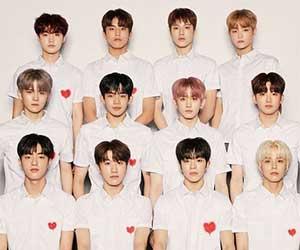 K-POPアイドルグループのTREASURE(トレジャー)メンバーのヒョンソク, ジフン, ヨシ, ジュンギュ, マシホ, ジェヒョク, アサヒ, イェダム, ドヨン, ハルト, ジョンウ, ジョンファン