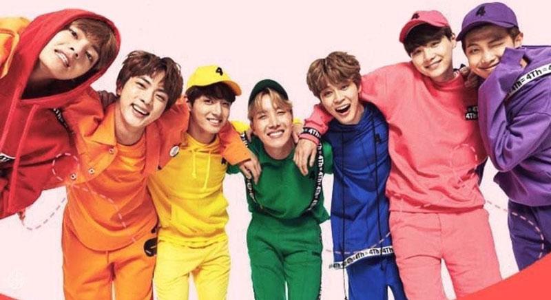 BTSメンバーとイメージカラー