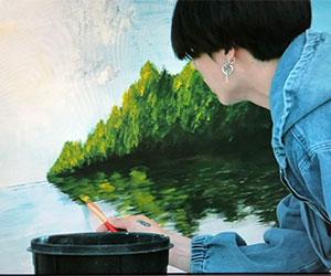 ジョングクが描いた絵